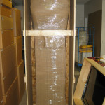 Packing Grandfather Clock